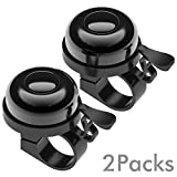 6. Sportout 2 Pack Bike Bell, Bicycle Bell, Loud Crisp Clear Sound for Road Bike, Mountain Bike, City Bike, Sports Bike, Kid's Bike, Cruiser Bike, BMX Bike(Diameter in 2.25cm)