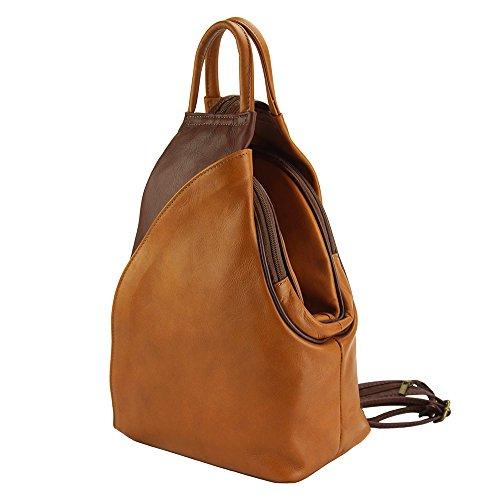 Florence Market En Leather De marron Dos Cuir Antonella 2065 À Clair Marron Vachette Sac rqrpW5wdxY