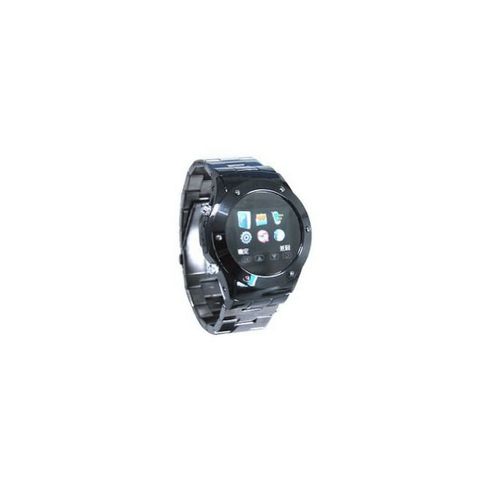 Black Mq888 1.5 Inch Tft Touch Screen,quad bands,support Bluetooth,/mp4/ Fm,wap,gprs,watch Phone,steel Strip Watch Mobile Phone