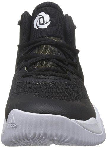 Adidas Mens D Rose Domineert Iii, Zwart / Goud Met / Wit Zwart / Goud Met / Wit