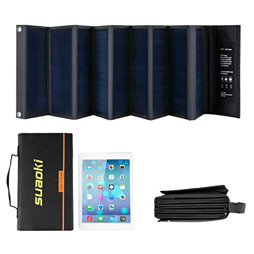 SUAOKI 60W Portable Sunpower Mono-crystalline Solar Panel With DC 18V and Usb 5V Output Charger for Laptop Tablet SLR GPS Cellphone Other 5-18V Device