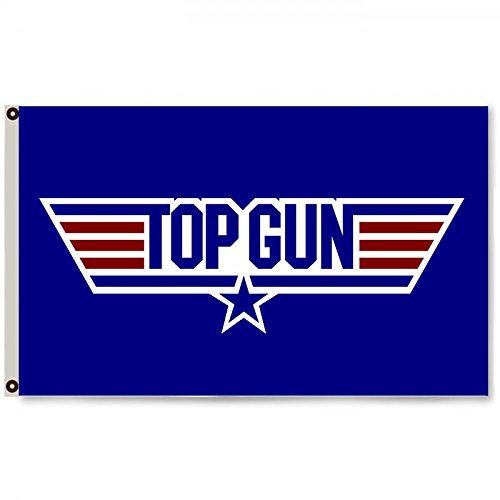 2But TOP Gun Tom Cruise 1980's US Airforce Flag Banner 3x5 Feet