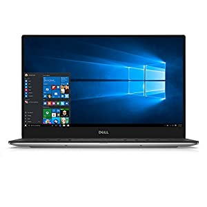 "Dell XPS9350-8008SLV 13.3"" 3200x1800 Laptop (Intel Core i7-6560U 2.2GHz Processor, 16 GB RAM, 512 GB SDD, Windows 10 Microsoft Signature Image) Silver"