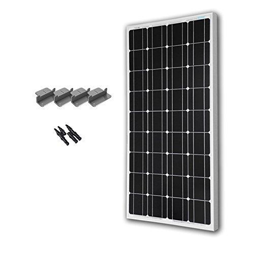 RENOGY 100 Watts 12 Volts Monocrystalline Solar Expansion Kit (Solar Expansion Kit)