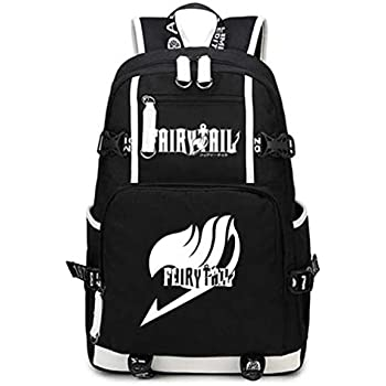 a1bace0a33d YOYOSHome Anime Fairy Tail Cosplay College Bag Daypack Bookbag Backpack  School Bag