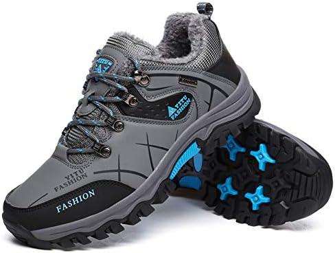 ハイキングシューズ メンズ トレッキングシューズ 防水 軽 登山靴 防滑 耐磨耗 裏起毛 アウトドアシューズ 通気性 スニーカー 大きいサイズ ブーツ ウォーキング 靴