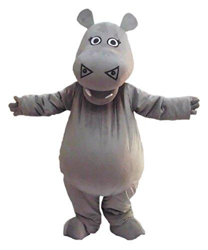 [CostumeShine Hippo Mascot Costume] (Hippo Mascot Costume)
