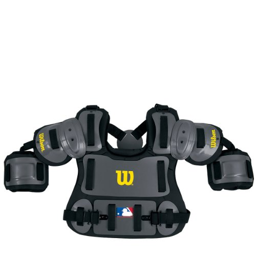 Wilson Fitted Umpire Chest Protector (13-Inch) by Wilson