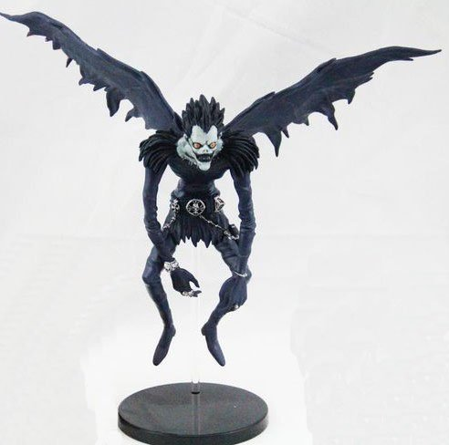 semmerning-Popular Anime Death Note Horrible Ryuk Collection Figure Model with Standing Base