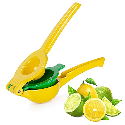 (Premium Quality Metal Lemon Squeezer, Limes Citrus Fruit Juicer, Manual Press for Extracting the Most Juice Possible, Premium Quality Professional Kitchen Tool )