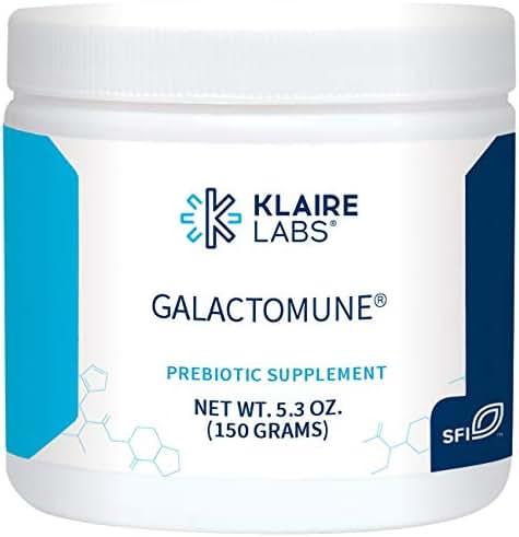 Klaire Labs Galactomune Powder - Prebiotic Beta-Glucan & Galactooligosaccharides Immune Support (5.3 Oz / 150 G)