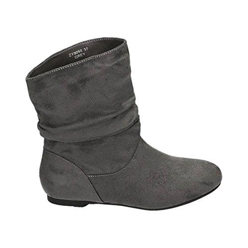 Schlupfstiefel Damen King Grau King Shoes Shoes qFaBaRxw