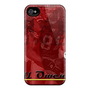 TimeaJoyce Iphone 4/4s Excellent Hard Cell-phone Cases Unique Design High-definition San Francisco 49ers Series [gvQ16747FAGB]