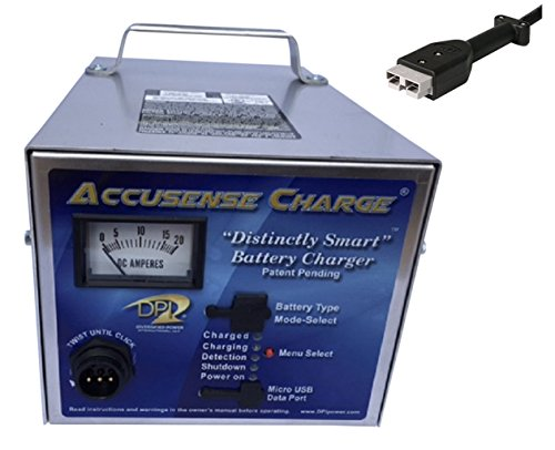 - 36volt 18amp Golf Cart Battery Charger with Anderson SB-50 connector