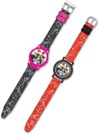 One Direction LCD Watch x 2 (1 black and 1 Red)