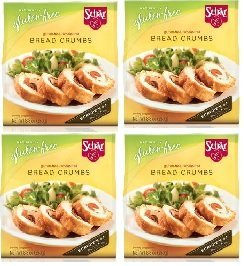 Schar Gluten-Free Breadcrumbs [4 Pack] by Schar