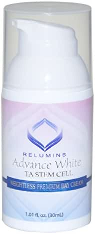 Authentic Relumins Advance Skin Whitening Weightless Facial Cream With TA Stem Cell - Intensive Repair & Protection - Lightweight Fast Absorbing Cream with Sun Protection