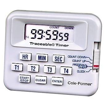 Cole-Parmer 100-Hour Digital Alarm Timer