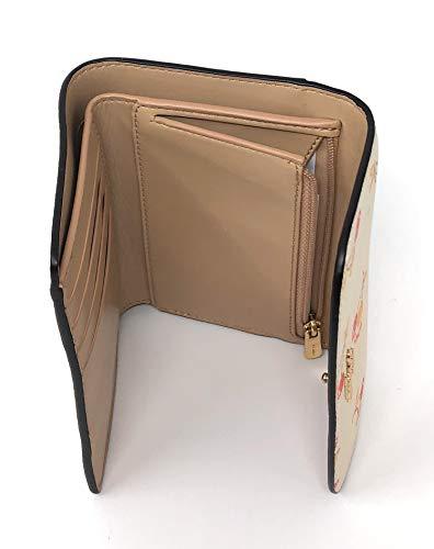 Envelope Cherry with Chalk Coach Coin white Pocket Wallet Print Medium Multi x6dUwBtp