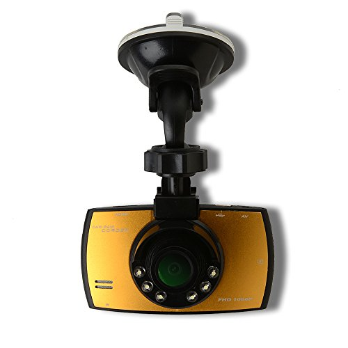 AGPtek Full HD 1080P Car Camera Dash Cam Vehicle DVR 2.7