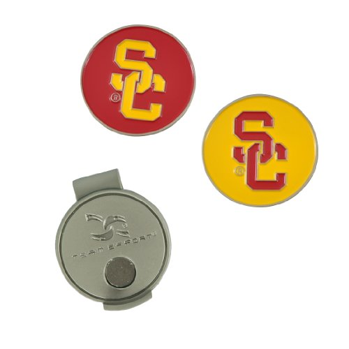 Team Effort USC Trojans Hat Clip & 2 Ball Markers