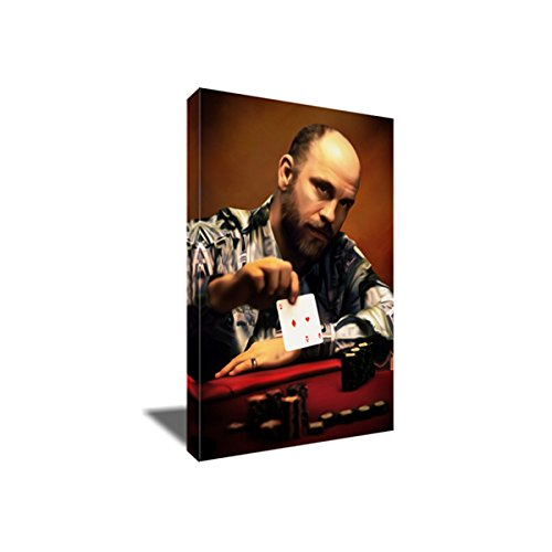 (Rounders Teddy KGB Canvas Painting Portrait Artwork on Canvas Art Print (20x30)