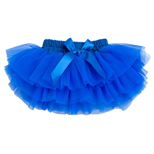 belababy 0-24 Months Baby Girl PP Tutu Skirt, Royal Blue]()