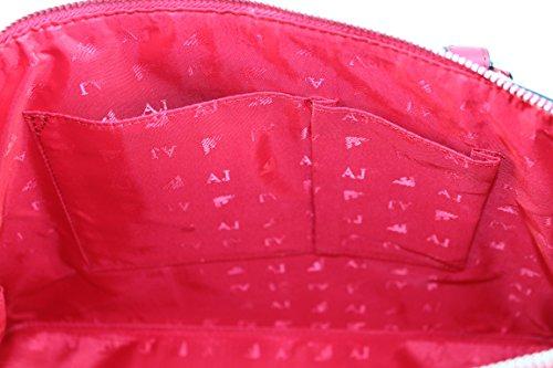 Armani Jeans - Bolso de asas de Material Sintético para mujer rojo rojo B 26 x H 34 x T 11 geranio