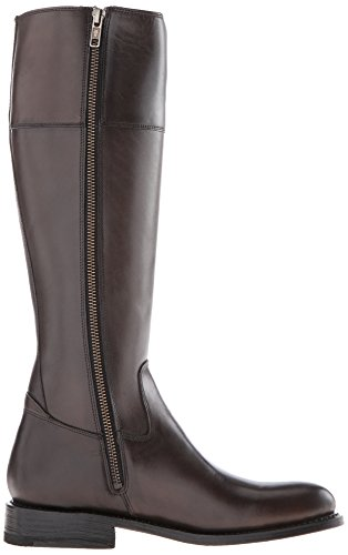 FRYE Damen Jayden Button Tall-SMVLE Reitstiefel Graphit-76095