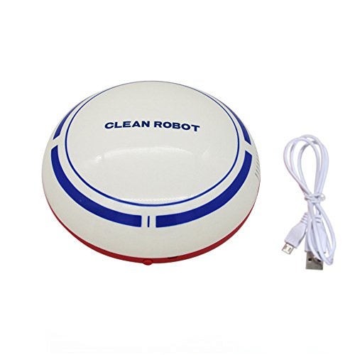 150 Ml Screen Cleaner (Practical Charge Sweep Robots,Efaster Automatic USB Rechargeable Smart Robot Vacuum Floor Cleaner Sweeping Suction (White))