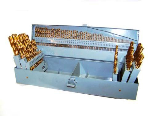 64' Long Screwdriver (115 HSS INDEX TITANIUM DRILL BIT SET METAL STEEL FRACTIONAL NUMBER AND LETTER)