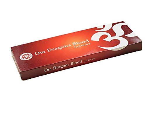 Om Incense Works Natural Fragrance Incense Sticks 100g Dragons Blood