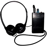 Harris Communications OW-REC Oval Window Induction Loop Receiver With Headphones