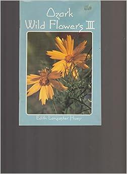 Book Ozark Wild Flowers III