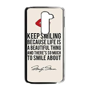 Keep Smiling Hot Seller Stylish Hard Case For LG G2
