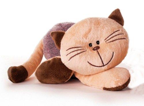 Inware 7775 - Kuscheltier Katze Mia, 35 cm, Schmusetier