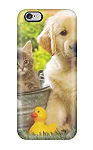 Premium Iphone 6 Plus Case - Protective Skin - High Quality For Puppy Dog Animal Free