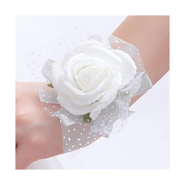 One-One-Bridal-Wedding-Bridal-Women-Girl-Bridesmaid-Exquisite-Floral-Hand-Wrist-Flower