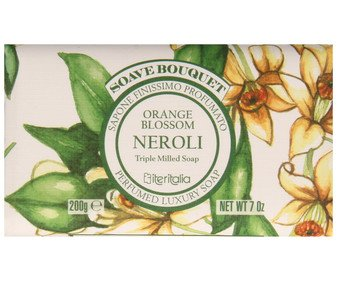 Soave Bouquet Orange Blossom Neroli Bar Soap Marigold Oil Bar Soaps
