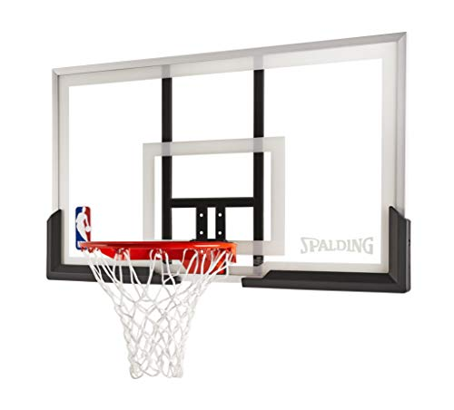 Spalding 54 Inch Backboard and Rim Combo with Acrylic Backboard (Goal Basketball Garage)
