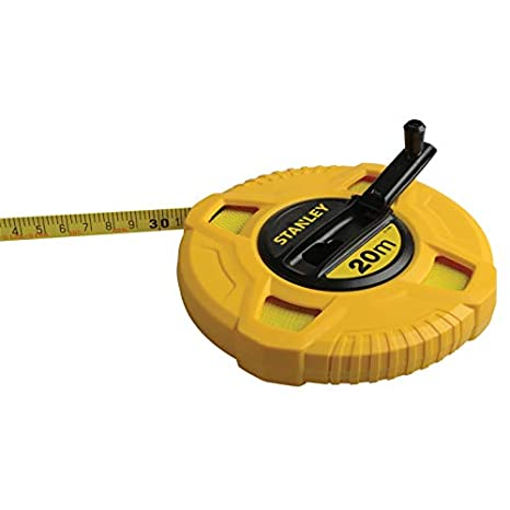 STA034262 12.7 mm Stanley Tools Closed Case Fibreglass Long Tape 30m//100ft