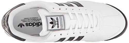 adidas Originals Herren Samoa Retro Sneaker Weiß / Schwarz / Dunkel Onix