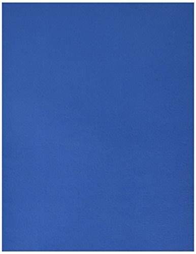 School Smart Heavy Duty 2 Pocket Folder - 8 1/2 x 11 inch - Pack of 25 - Dark Blue