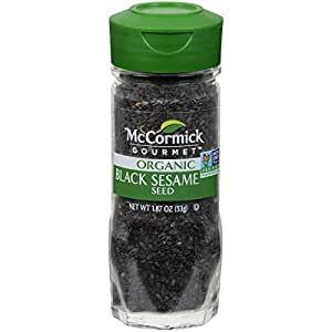 McCormick Gourmet Black Sesame Seeds, 1.87 oz