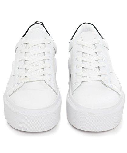 Kendall and Kylie Mujeres Tyler encaje entrenadores Blanco Blanco