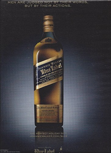 print-ad-for-johnnie-walker-blue-label-men-are-judged-not-by-their-words-print-ad