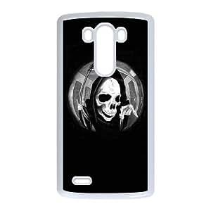 LG G3 Phone Case for Grim Reaper - Skull pattern design
