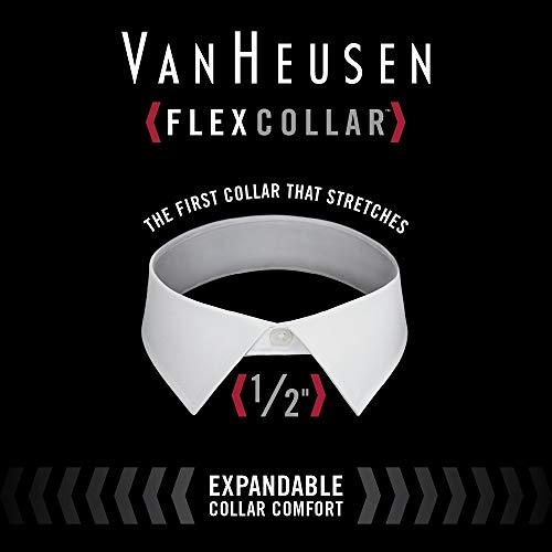 Van Heusen Men's Dress Shirt Slim Fit Flex Collar Stretch Solid