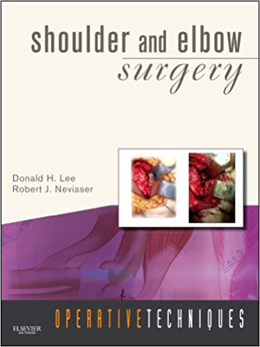 Operative Techniques: Shoulder and Elbow Surgery: Book, Website and DVD 9781416032786 Sports Medicine at amazon