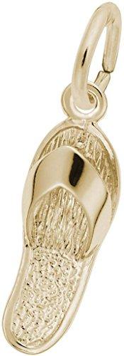 Rembrandt Sandal Charm - Metal - 14K Yellow Gold 14k Yellow Gold Sandal Charm